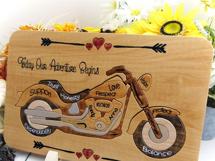 Tmx Motocycle 2 Unitry Puzzle Copy 51 1372641 159722118341888 Chatsworth, CA wedding favor