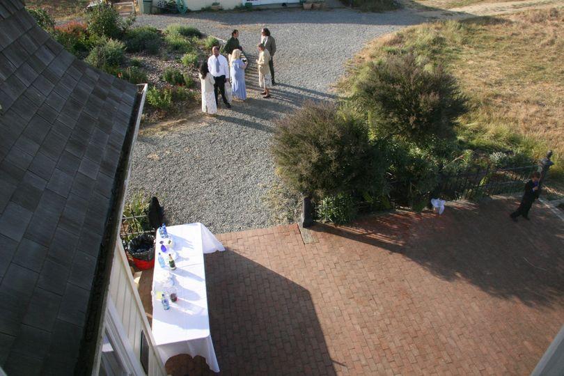 Rooftop view of Richardson Bay Audubon Center & Sanctuary