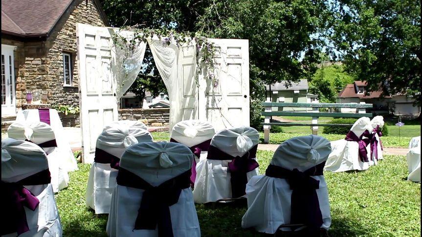 Huntington, WV St. Cloud Commons Park for Katti and Nathan's wedding