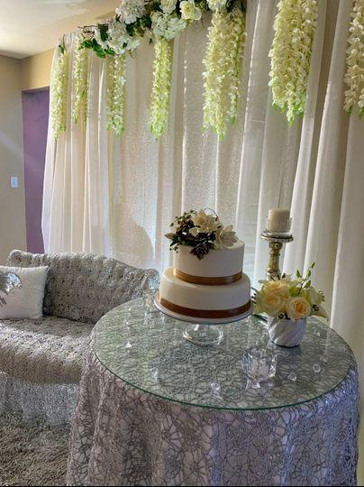 Gardenia sugar flower wedding