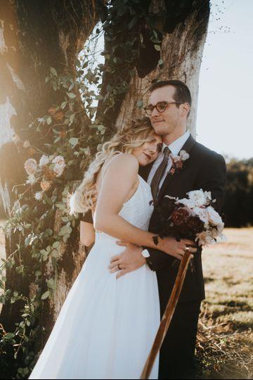 Adorable bride