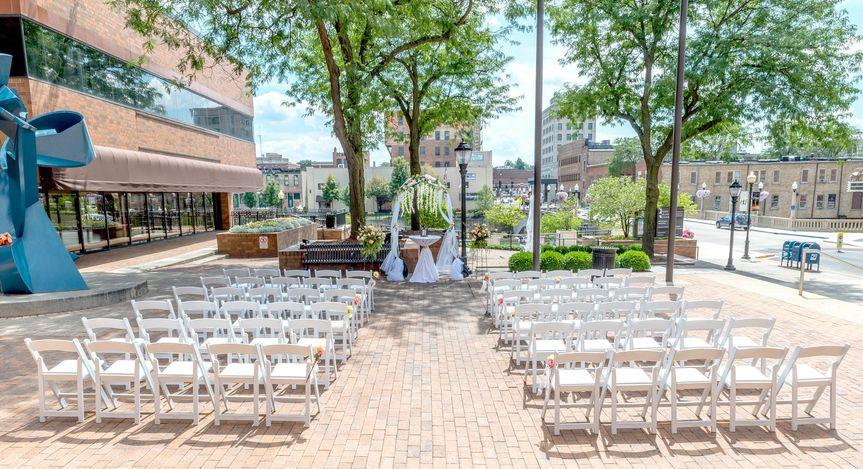 Ceremony on the Plaza