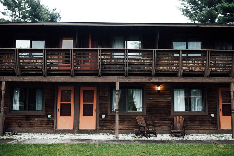 Side View of Guest Rooms