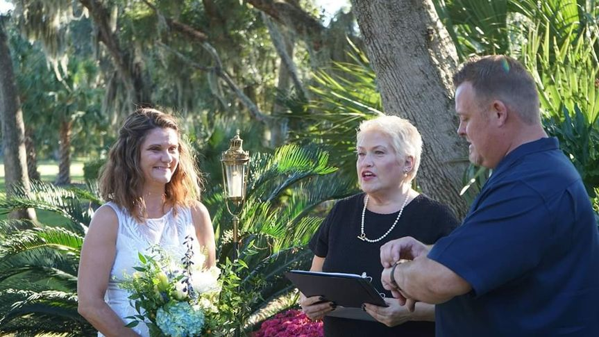 Lovely Backyard Wedding