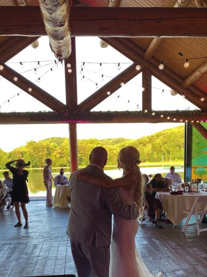 A beautiful venue open to nature