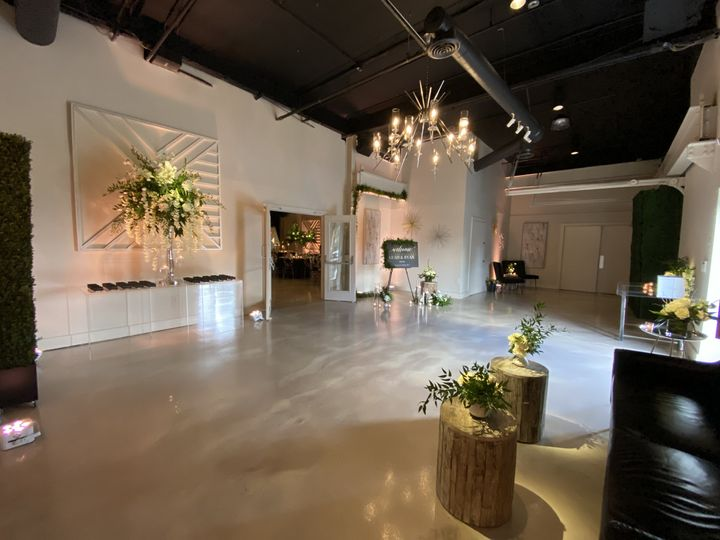 Industry Event Space Lobby