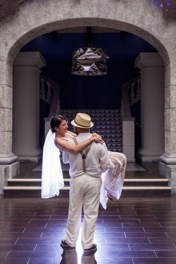 Liz & Abraham at Riviera Maya