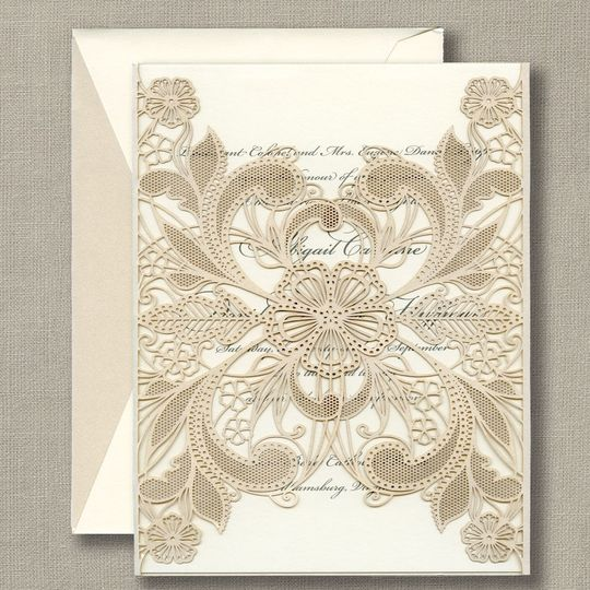 Wedding invitations by William Arthur at Scribe Pittsburgh