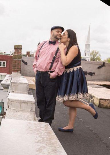 Engagement photoshoot dress