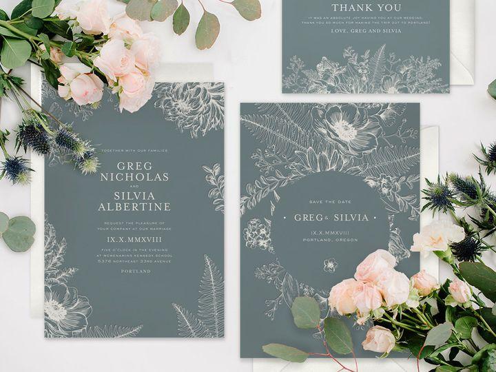 Tmx 1528311237 D9a9d05fdcbc16fd 1528311236 2d09b319b03475f3 1528311230294 1 Rock My Wedding    Seattle, Washington wedding invitation