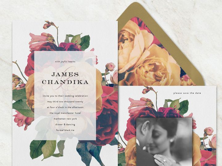 Tmx 1528311239 C35d534bf0a2147a 1528311237 C23efa0357e3e8ed 1528311230299 3 Phrosne Floral Ful Seattle, Washington wedding invitation