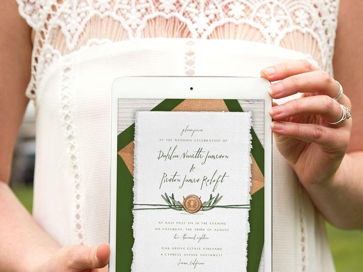 Tmx 1528311242 A73f8fa39b74ebb4 1528311239 41d67588c93ca1c6 1528311230310 8 Instagram Re Tarte Seattle, Washington wedding invitation