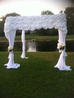 Tmx 1368496311230 Wedding Chuppah Wedding Canopy With Fresh Flowers Tampa wedding florist
