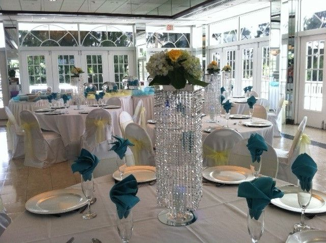 Tmx 1405477798787 Tall Illuminated Table Chandelier With Fresh Flora Tampa wedding florist