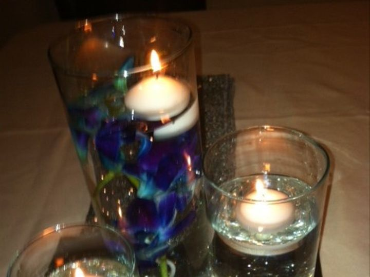 Tmx 1432689434830 Floating Candles Trio Of Vases I Tampa wedding florist