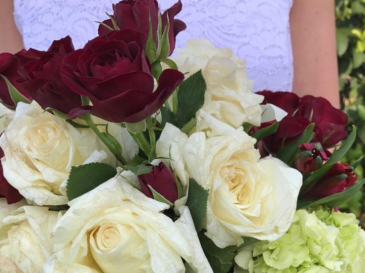Tmx 1491090478347 Garden Roses  Assorted Florals Cascading Bridal Bo Tampa, FL wedding florist