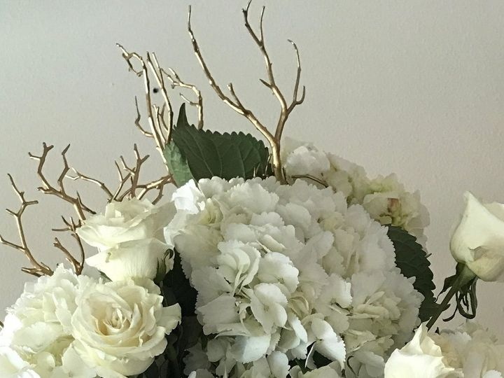 Tmx 1491093346206 Premium Hydrangea  Roses Tall Illuminated Centerpi Tampa, FL wedding florist