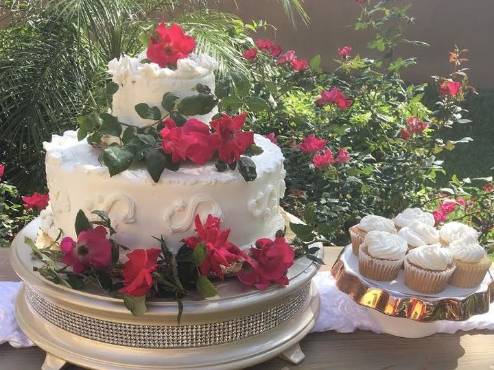 Tmx 1492962718501 Rustic Elegance Wedding Cake  Cupcakes Tampa, FL wedding florist