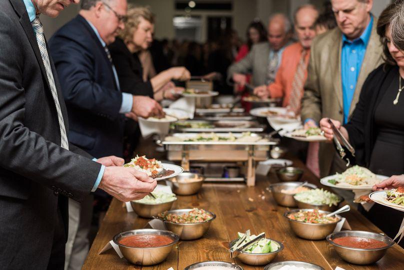 Self-serve buffet