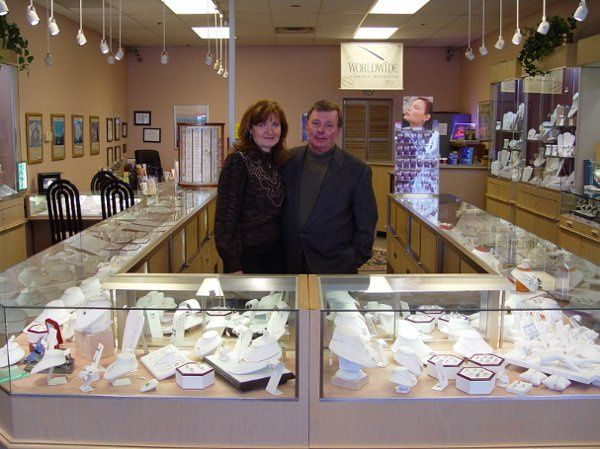 Mel and Liz in their store that features thousands of items and possibilities!