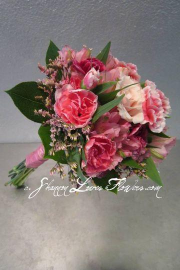 Pink little flowers
