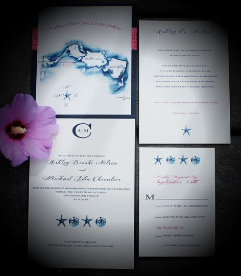 My Blue Sparrow Invitations