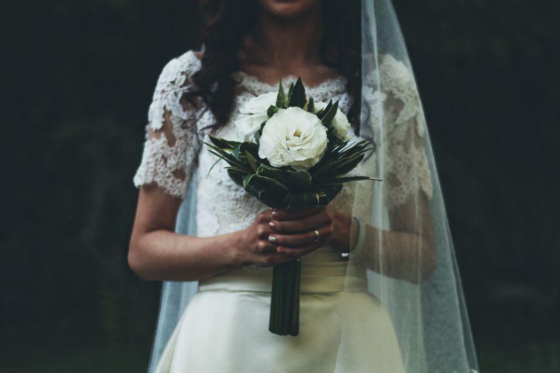 Wedding day look