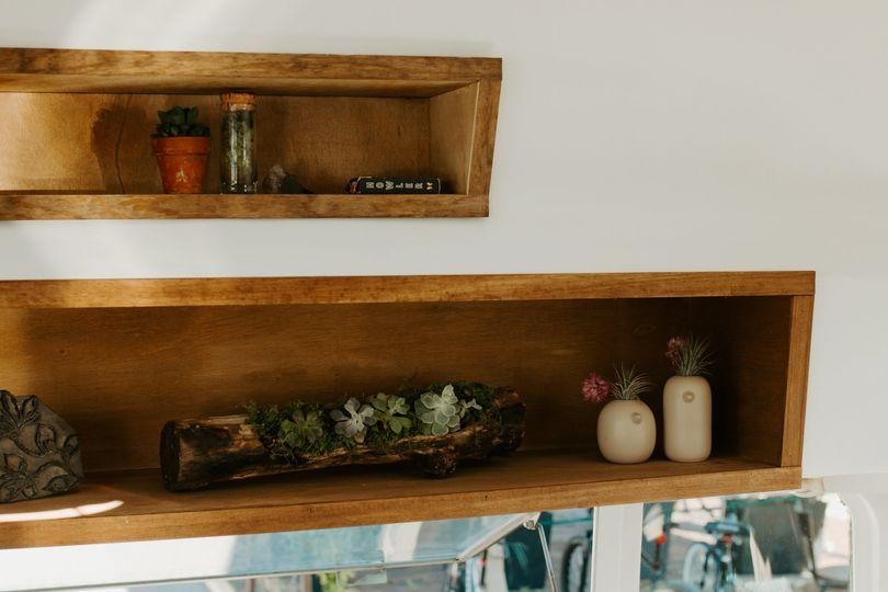 Front Shelves