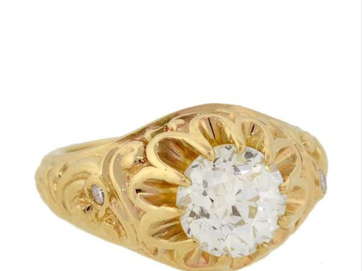 Tmx 1455224898152 Victyellowgolddiamengagring Narberth wedding jewelry