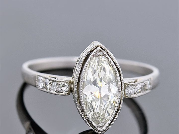 Tmx 1455224914715 37674 Marquise Diamond Engagement Ring Narberth wedding jewelry