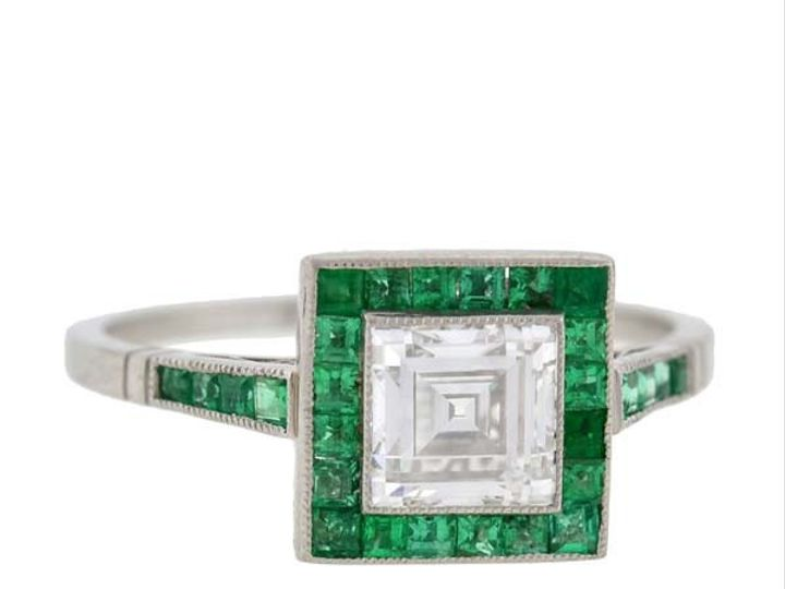 Tmx 1455224932919 Emeralddiamondengagering Narberth wedding jewelry