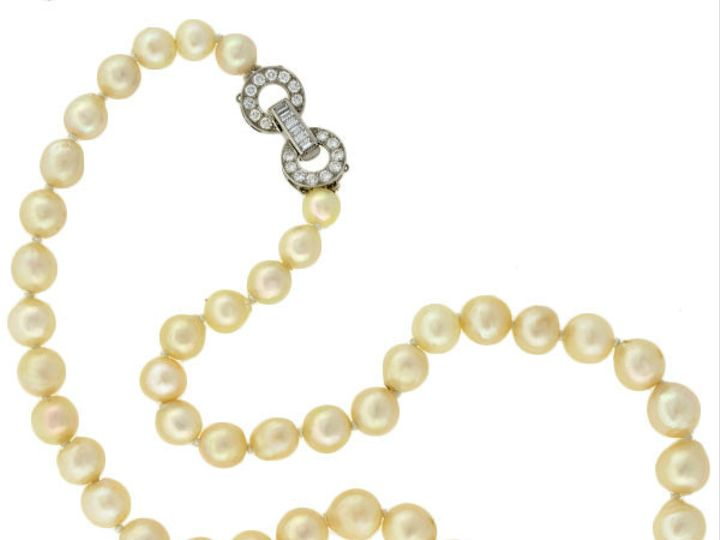 Tmx 1455225184345 Cultured Pearls Diam Clasp Narberth wedding jewelry