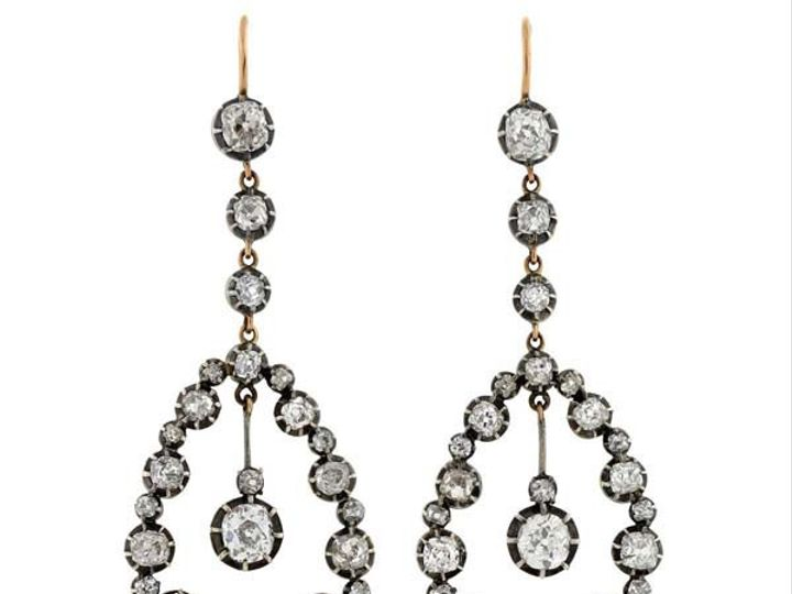 Tmx 1455225217775 Bretthdrippydiamearrings2687bf2b 6baa 4049 99e7 06 Narberth wedding jewelry
