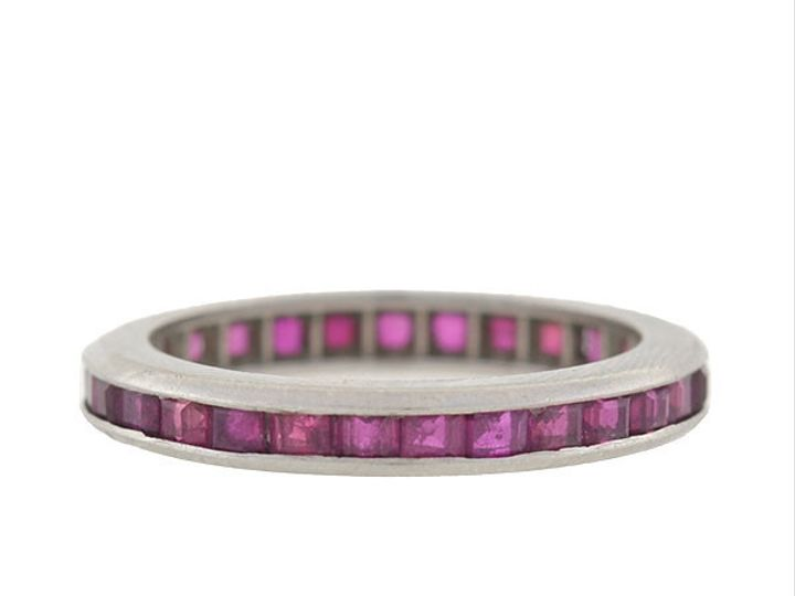 Tmx 1455819557741 Ruby Eternity Band Narberth wedding jewelry