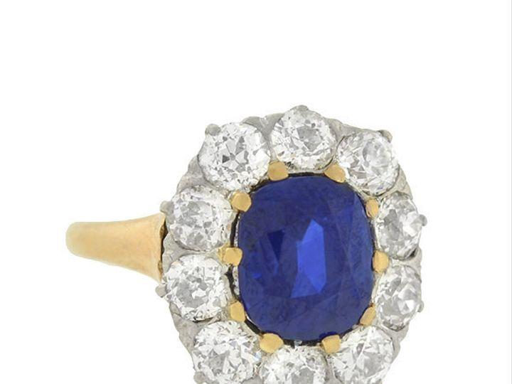 Tmx 1455819788624 2ct Diamond Sapphire Ring Narberth wedding jewelry