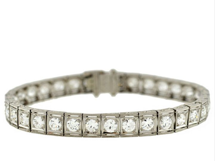 Tmx 1455820738972 Diamondlinebracelet7.50ctw Narberth wedding jewelry