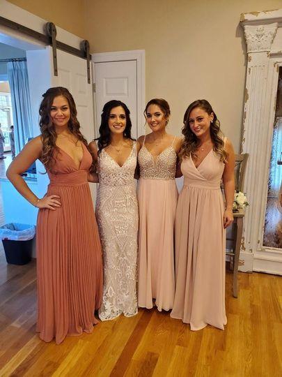 Late November Bridal Party