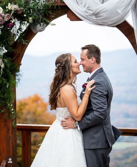 First Kiss as Husband & Wife