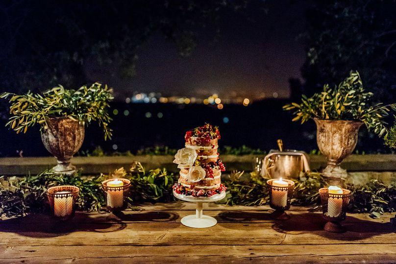 This wedding cake
