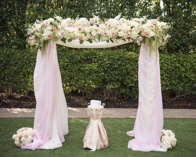 Lush Arch Floral Design