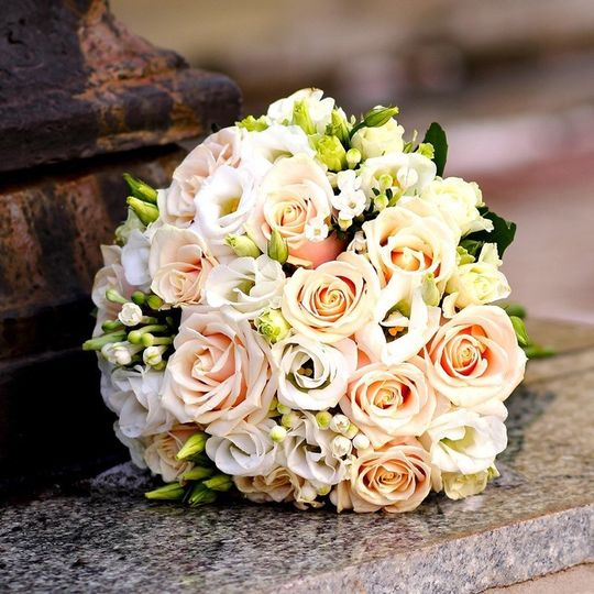 Rounded Rose Bouquet