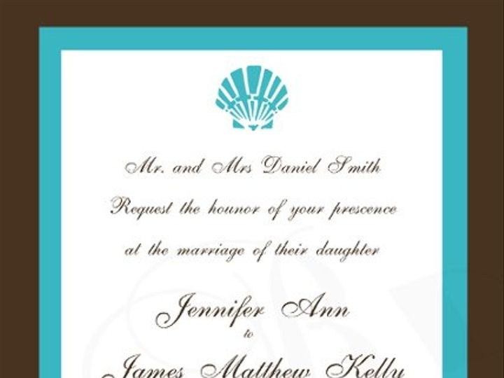 Tmx 1295875525550 ShellInvitecopy Bayonne wedding invitation