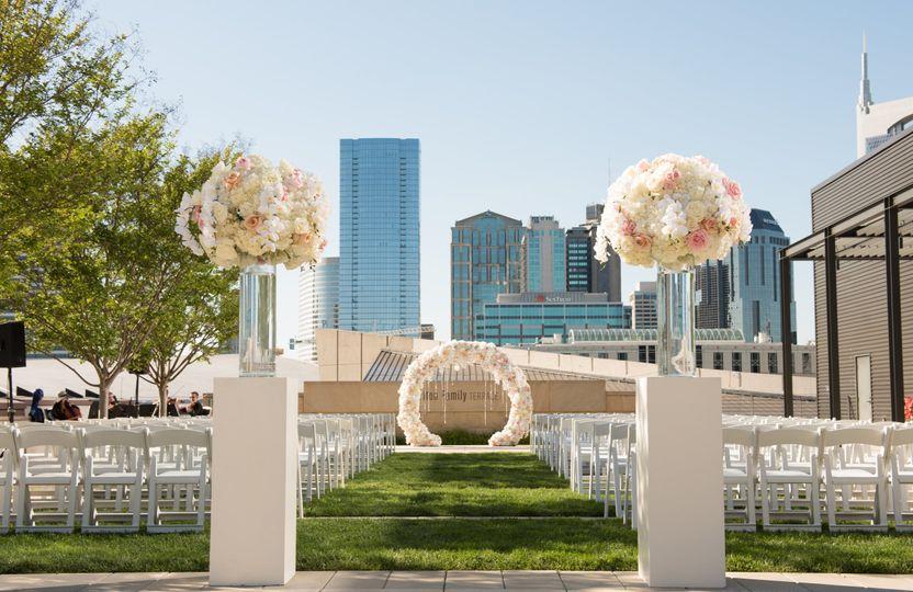 EE + Rooftop Wedding