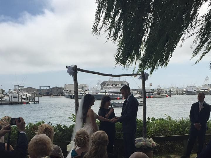Tmx 1478215204247 Alicia And Steve Miller Place, NY wedding officiant