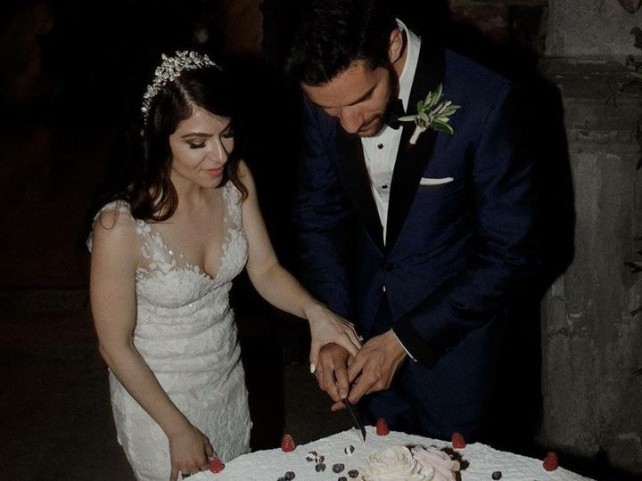 Tmx Jenna And Chriss Cake Cutting 51 754741 Miller Place, NY wedding officiant