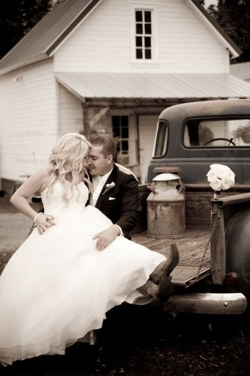 Love in the back of the truck