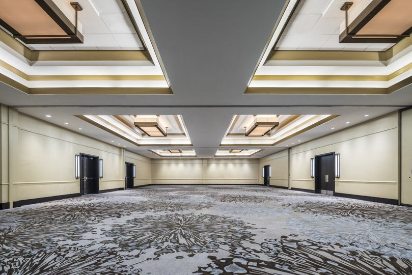 oaks ballroom empty