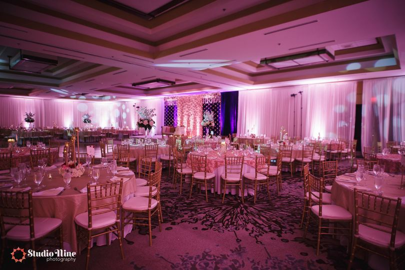Reception Set Up