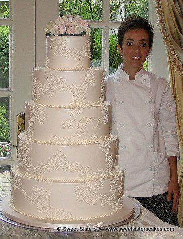 Tmx 1294096355999 IMG2233 Fairfield wedding cake