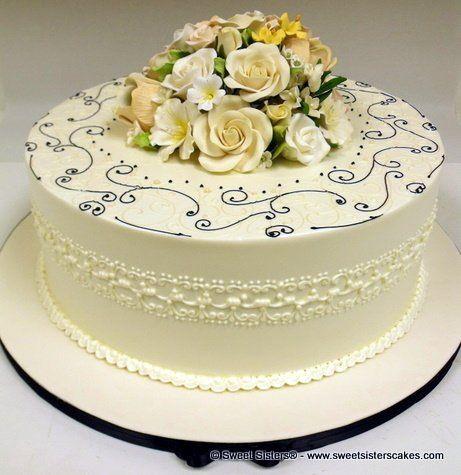 Tmx 1294096358640 DSCF0919 Fairfield wedding cake